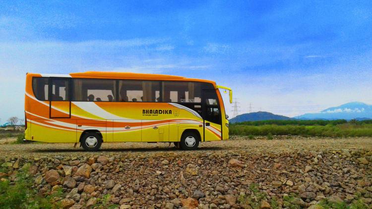 Kisaran Harga Sewa Bus 26 Seat Jakarta Ciater